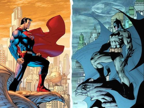 Superman Batman – Symmetry
