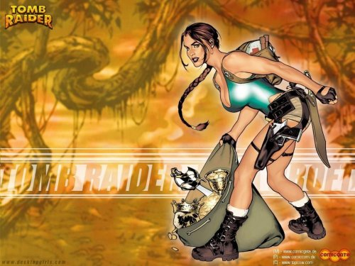 Tomb Raider – Bag of loot
