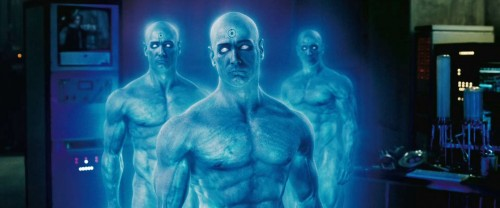 Blue man From Watchmen Movie