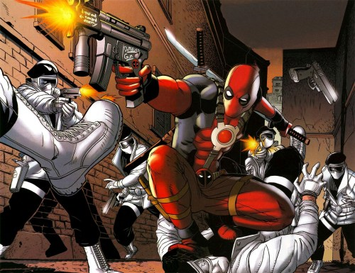Deadpool vs Men In White