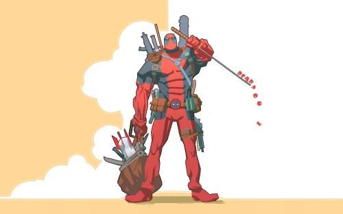 Deadpool's Drippling Sword