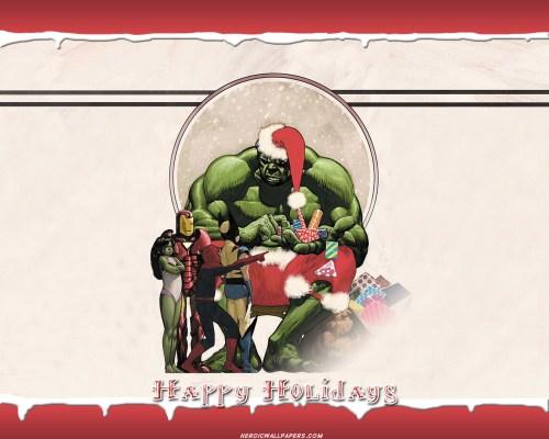 Incredible Hulk – Happy Holidays