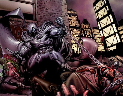 Moon Knight Is Violent