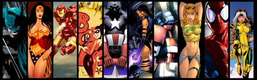 Widescreen Comic Heroes