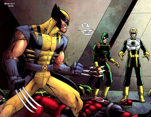 Wolverine Cut Off Some Dude's Head