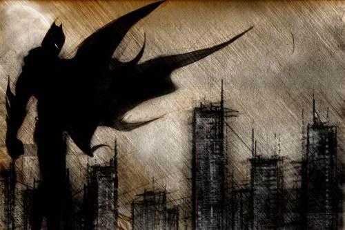 batman – charcol