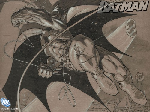 batman – sketch