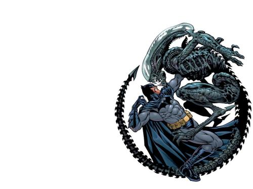 batman vs alien