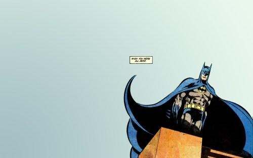 batman – wish you were all dead