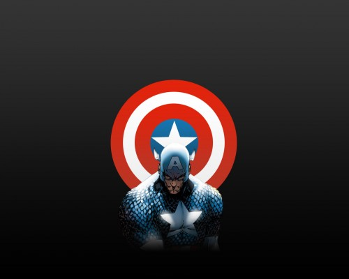 captain america and shield