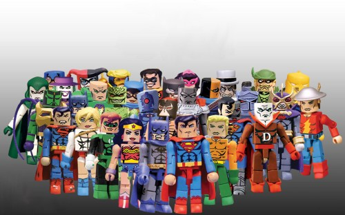 dc comics megablocks