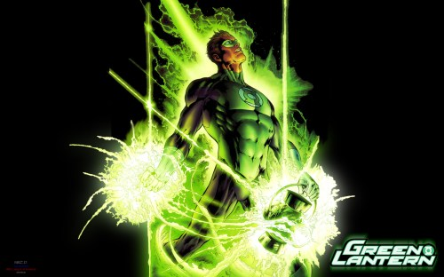 green lantern – power up