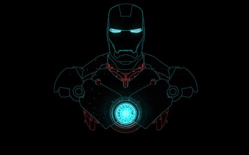 iron man laser sketch 2