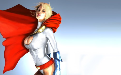 power girl – windblown