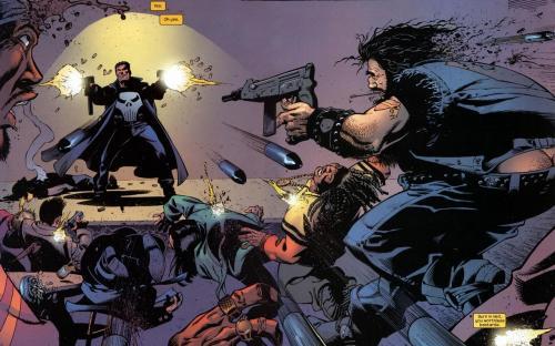 punisher vs bad guys