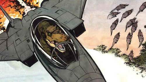 t-rex in f-16