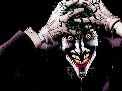 the joker is mad