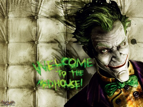 the joker – welcome to the mad house