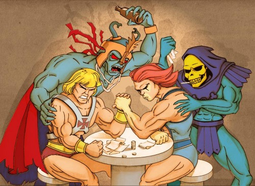 thundercats vs he-man
