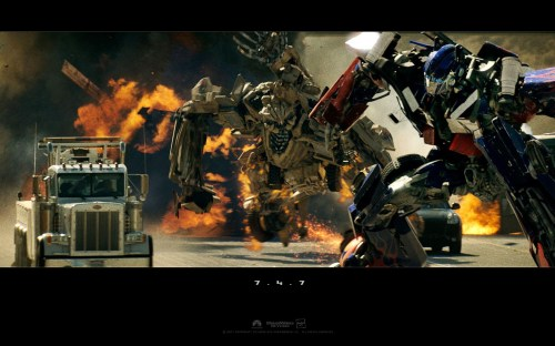 transformers – movie wallpaper