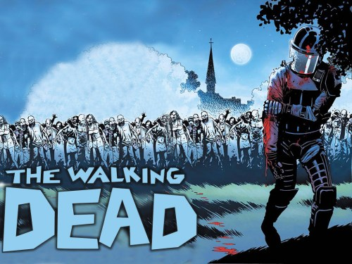 walking dead – injurged police