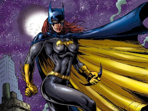 batgirl in the wind