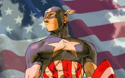 captain america sketch