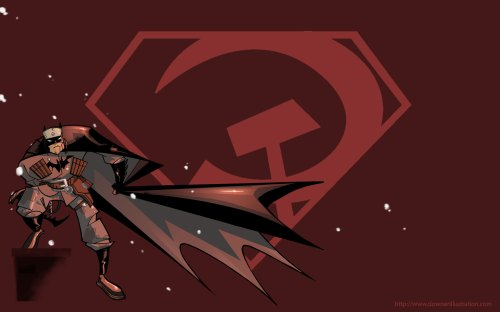 red son batman