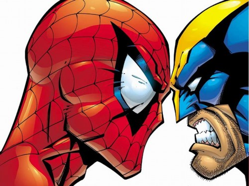 spider-man vs wolverine