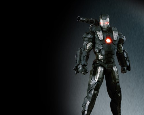 war machine from iron man 2