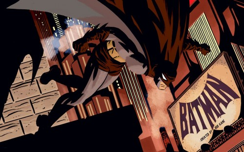 batman – created by bob kane