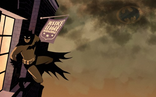 batman spies on the Justice league