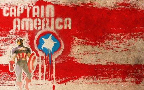 captain america – graffiti