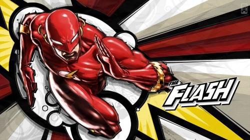 high speed flash widescreen wallpaper