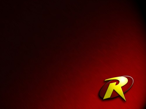 robin logo in red