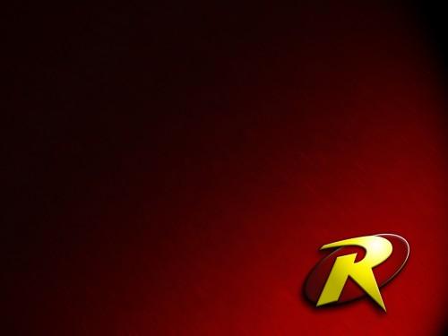 robin logo in red