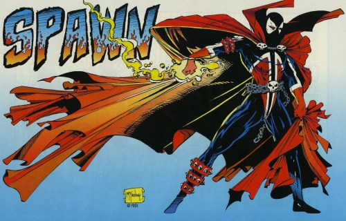 spawn in flames