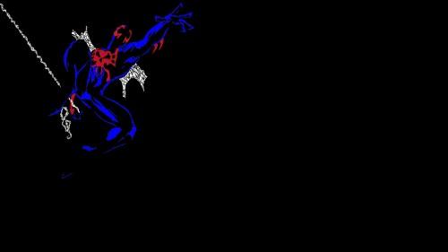 spider-man 2099 jumping