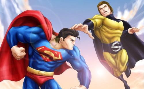 superman vs sentry