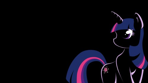 twilight sparkle in the dark