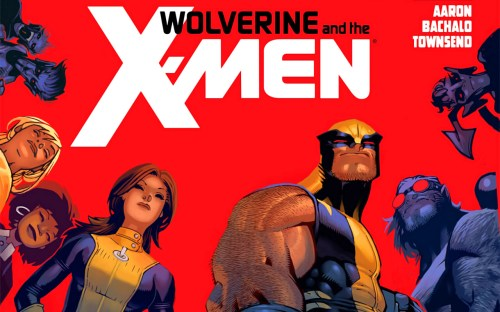 wolverine and the x-men cover