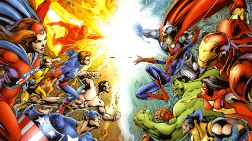 invaders vs avengers