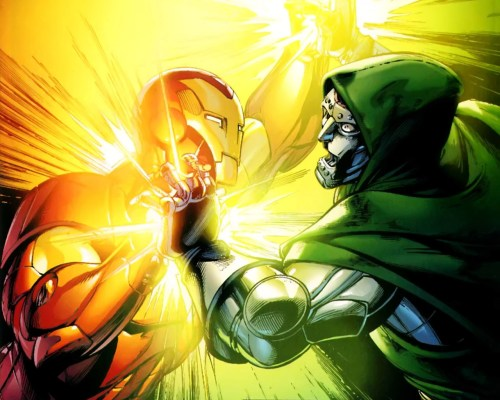 iron man vs dr doom