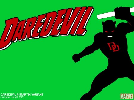 daredevil – green background