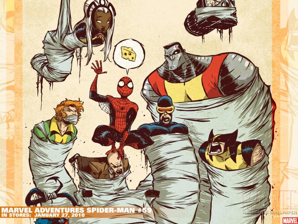 marvel adventures spider-man 59