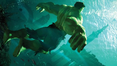 the hulk underwater