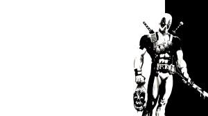 Black and White Deadpool