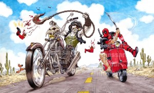 Lobo vs Deadpool
