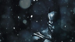 batman in the snow