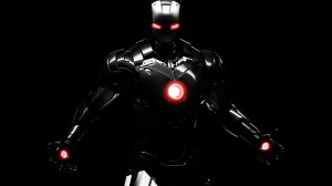 black iron man